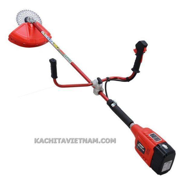 máy cắt cỏ điện sạc KBC240